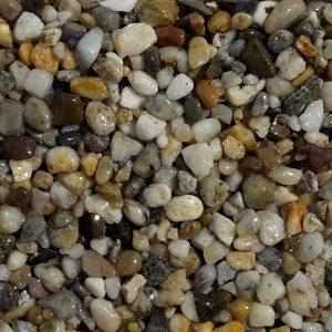 Štrkový koberec Prírodný dizajn O 01, pochôdze plochy ako chodníky, cesty