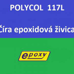 POLYCOL 117L Epoxidová transparentná živica.
