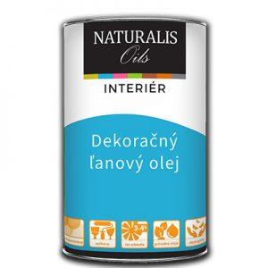 Dekoračný ľanový olej - Naturalis Oils, všetky druhy drevených povrchov