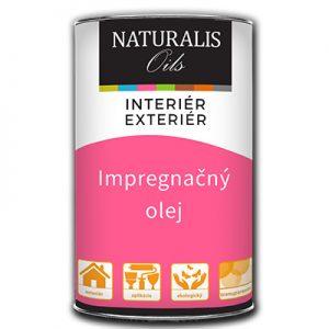 Impregnačný olej - Naturalis Oils na všetky druhy výrobkov z dreva.
