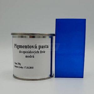 Pigmentová pasta na zafarbovanie epoxidových živíc.