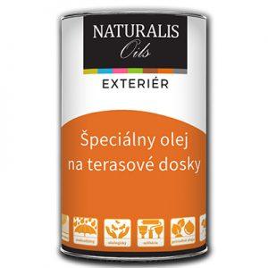 """Špeciálny olej na terasové dosky - Naturalis Oils, Je to tzv. """"vysychavý olej"""""""