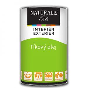 """Tíkový olej - """"vysychavý olej"""", exteriérový olej vhodný na všetky typy drevín"""