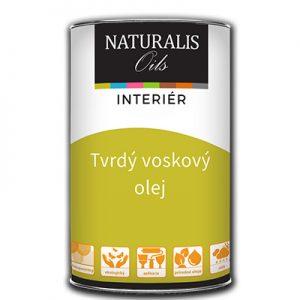 Tvrdý voskový olej - Naturalis Oils, na ošetrenie všetkých druhov parkiet