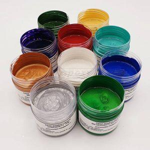 Metalický tekutý pigment