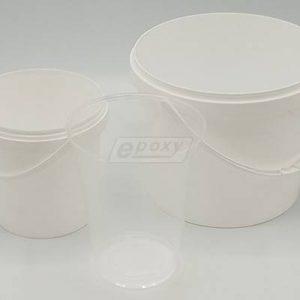 Plastové vedrá a poháre